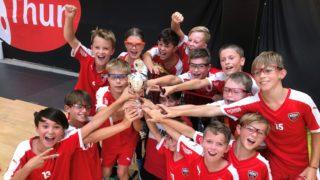 Junioren D blau: Sieg am Thunercup