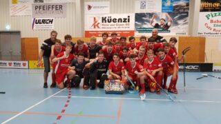 U18 gewinnt den x Cup