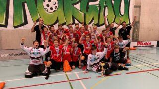 Die U14 holt sich den Turniersieg am äxgüsi-Cup